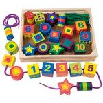 7202: Lacing beads