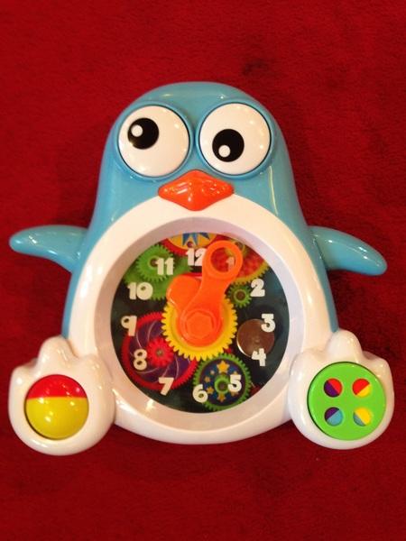 0065: Penguin Cog Clock