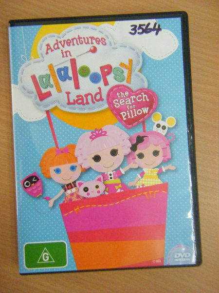 3564: Adventures in Lalaloopsy Land - the Search for Pillow DVD