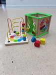 3586: Learn and Play Activity Cube