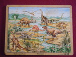 1458: DINOSAURS Puzzle