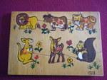 1528: WILD ANIMALS Inset Puzzle