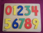 1562: NUMBERS 0-9 Inset Puzzle