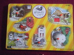 2782: HAIRY MACLARY & FRIENDS Peg Inset Puzzle