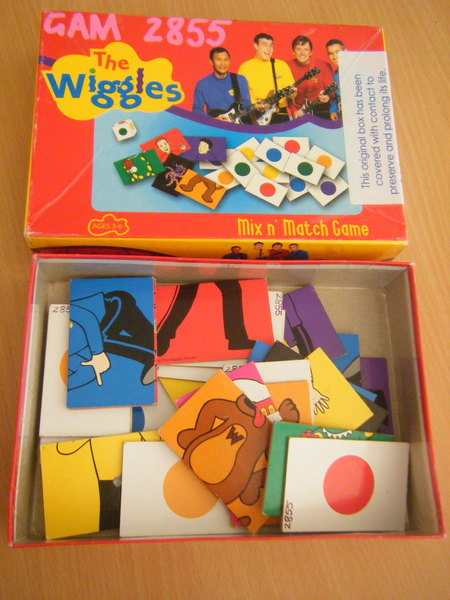 2855: Mix 'n' Match Game - Wiggles