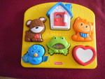 3291: ACTIVITY Inset Puzzle - Fisher Price