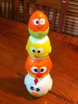 3317: Chicken & Egg Stacking Cup - Little Learner