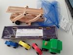 3418: Car Carrier - wooden