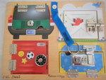 3442: LOCKS BOARD Puzzle