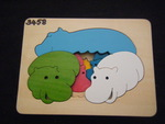 3458: HIPPOS 3-Layer Puzzle