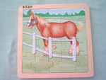 3520: HORSE KNOW & GROW Puzzle