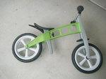 3535: Balance First Bike Green