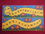 696: ALPHABET CATERPILLAR Puzzle