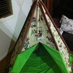 969: Teepee Tent Cowboy design