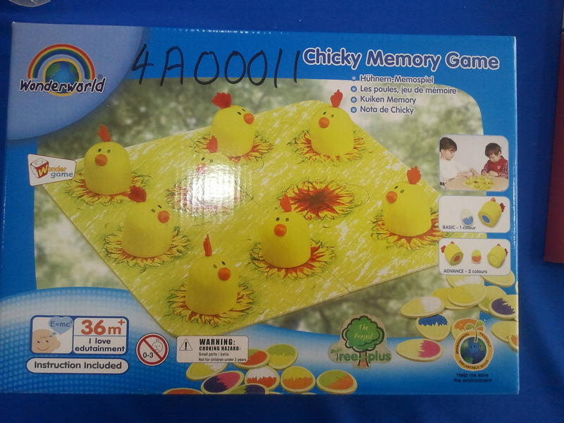 4A00011: Chicky Memory Game