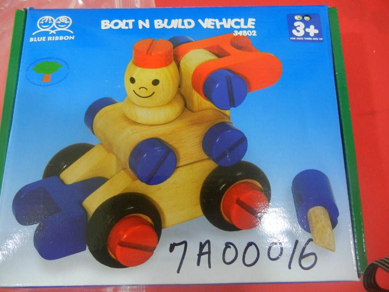 7A00016: Bolt n Build Vehicle