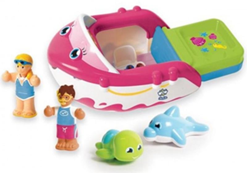 332: Susie speedboat - bath toy