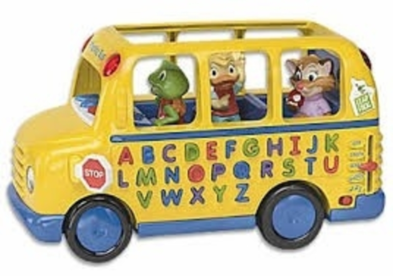 033: Fun & Learn Phonics Bus