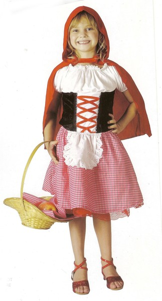 759: Costume: Lil red riding hood