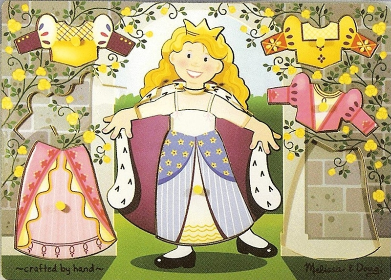 344: Puzzle:Princess dress-up mix & match