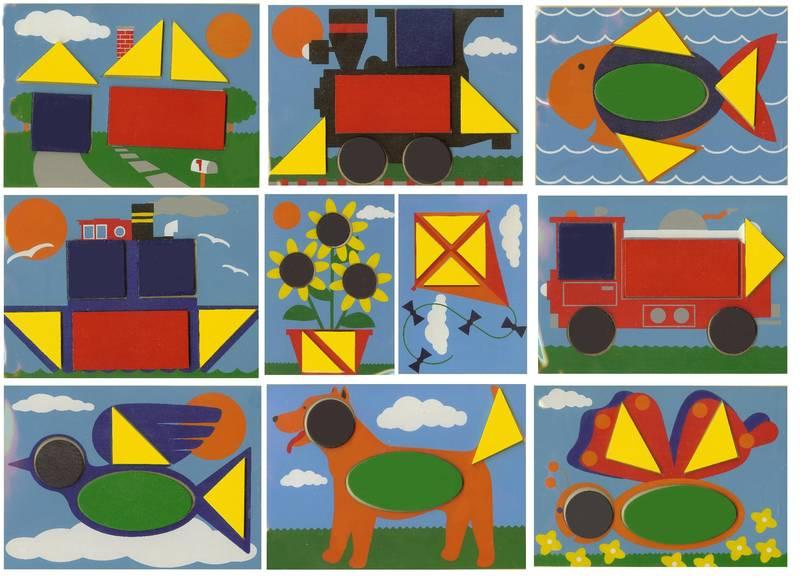 656: Beginner pattern blocks