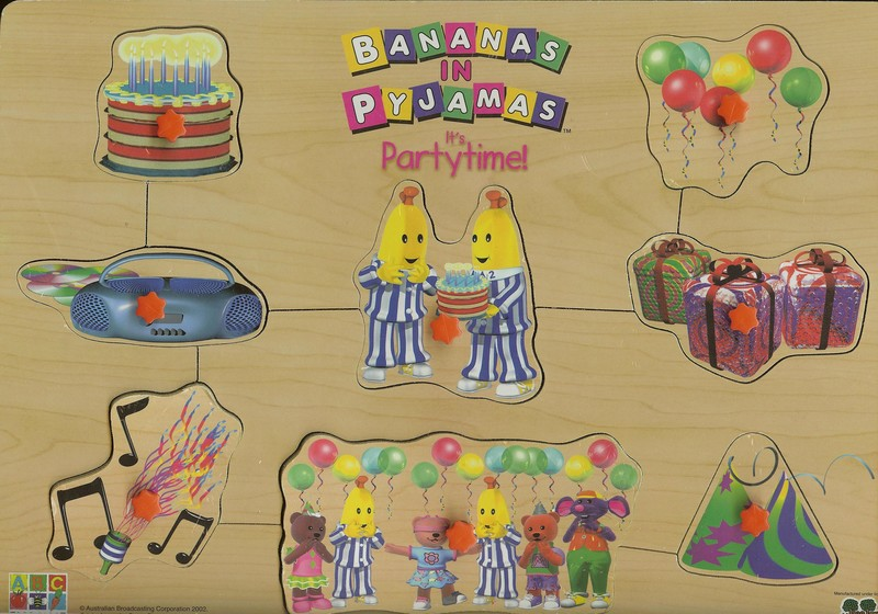 013: Bananas in Pyjamas - Its Party Time