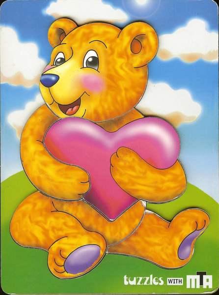 025: Tuzzle Heart Bear