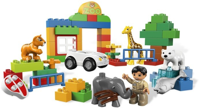 456: My first zoo - Duplo (6136)