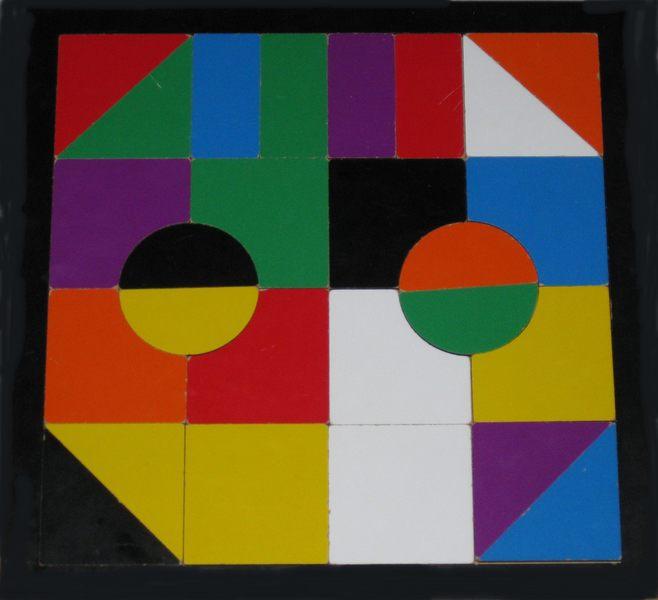 612: Laser cut puzzle – designer one