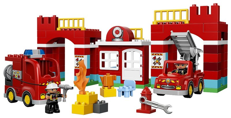 603: Duplo – Fire station 10593