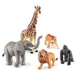380: Jumbo jungle animals
