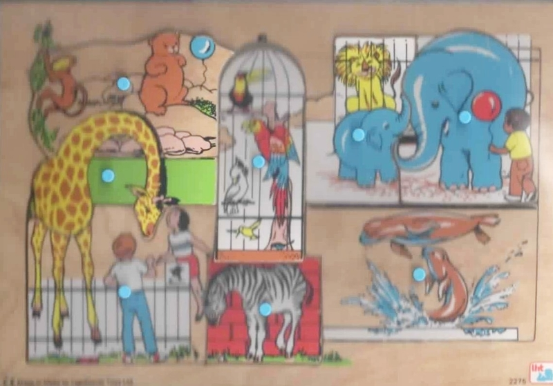 822: Zoo See Inside puzzle