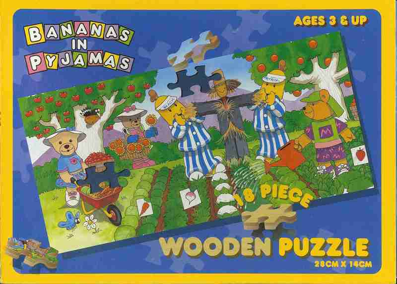 632: Puzzle: bananas in pyjamas-gardens