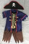 687: Costume: Skeleton pirate