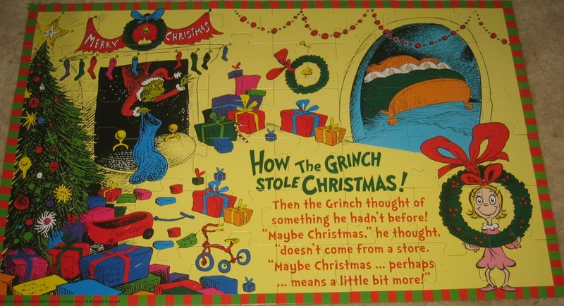 835: Puzzle: How the Grinch stole Christmas
