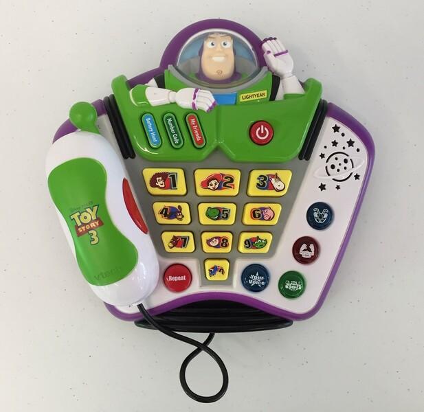 568: Buzz lightyear talk & teach phone