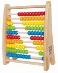 494: Rainbow bead abacus