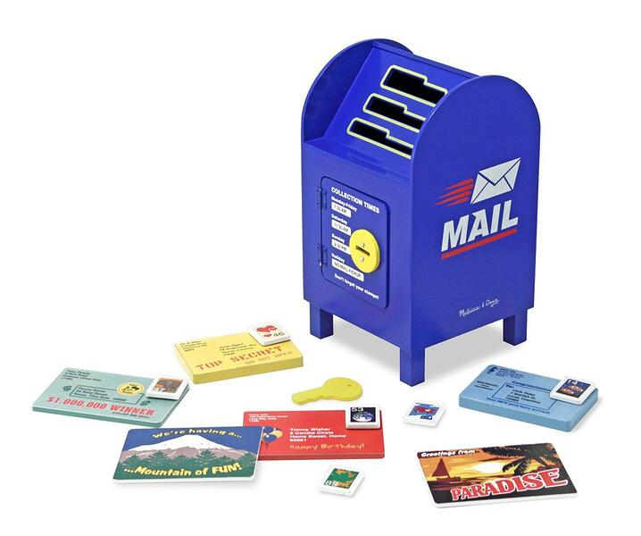 829: Stamp and sort mailbox