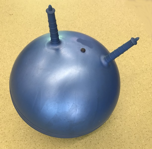 073: Blue Space Hopper