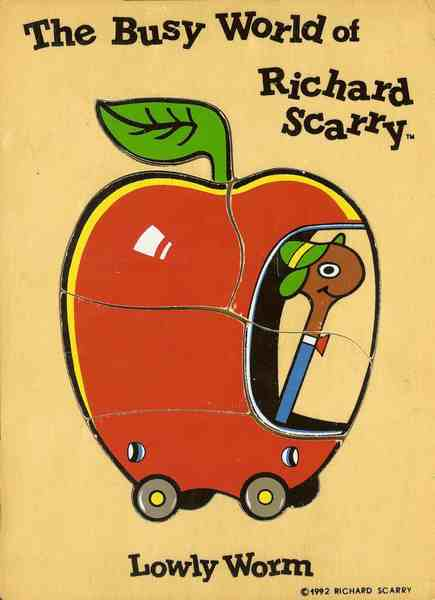 507: Richard Scarry Lowly Worm puzzle