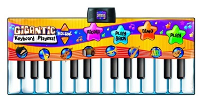 825: Gigantic keyboard playmat