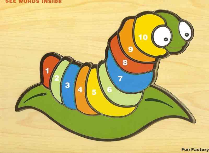 853: Puzzle: Caterpillar