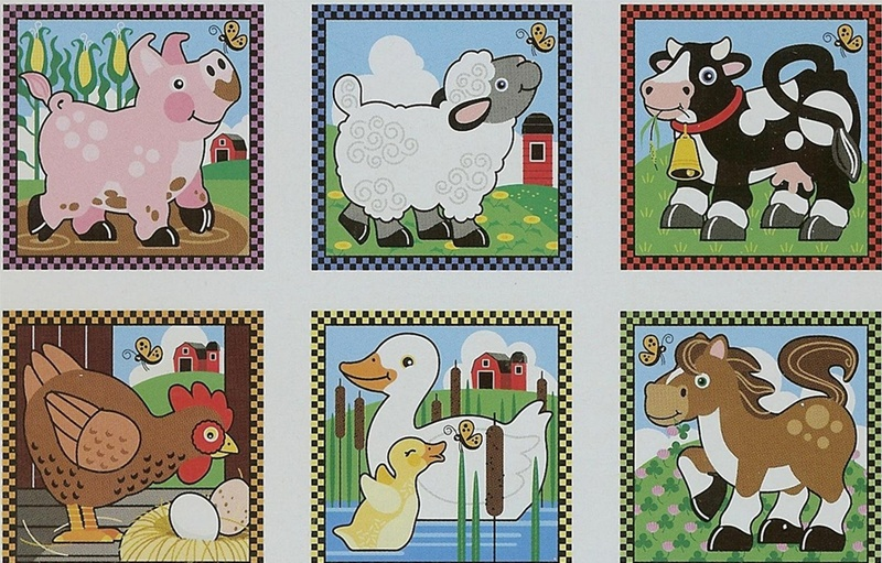 569: Farm cube puzzle