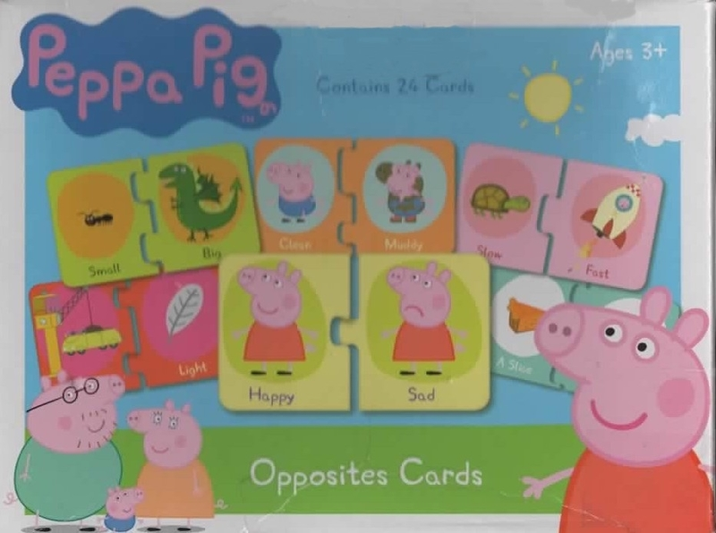 111: Peppa Pig Opposites Cards