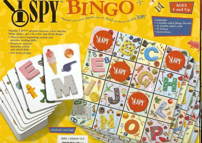 259: I Spy Bingo
