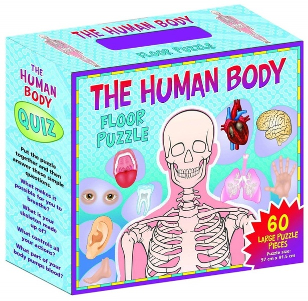 046: Puzzle: The Human body floor puzzle
