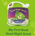 861: Leap Frog book –good night scout