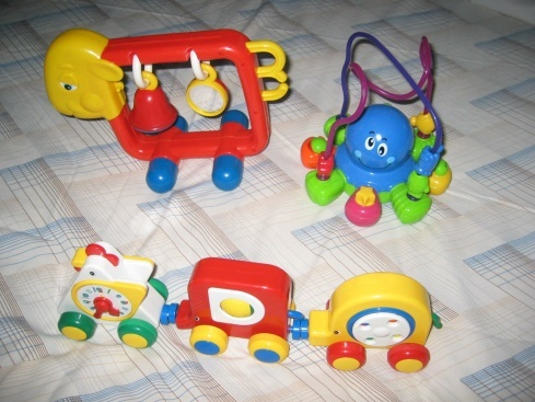 008: Baby's Activity Play Set