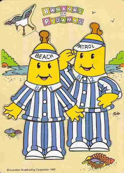 214: Banana's in Pyjamas' Puzzle