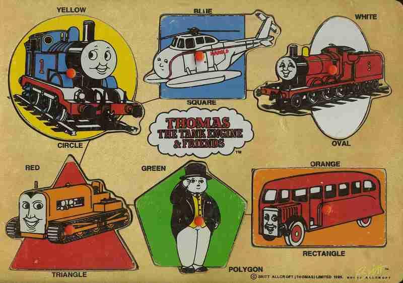 608: Puzzle: Thomas Tank Engine + Friends